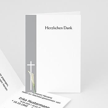 Trauer Danksagung christlich - Himmlischer Frieden - 1