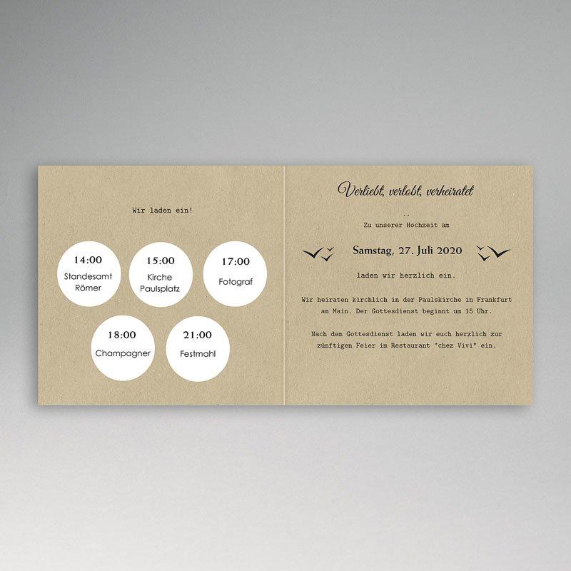 Reisen Hochzeitseinladungen Reisepass pas cher