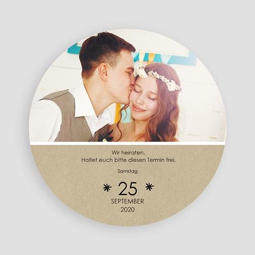 Save The Date  - Schlichte Blumenkrone 47302 test