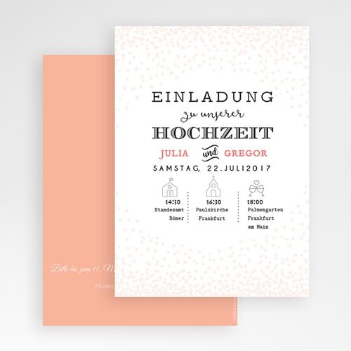 Hochzeitseinladungen modern - Goldrichtig 47337 preview