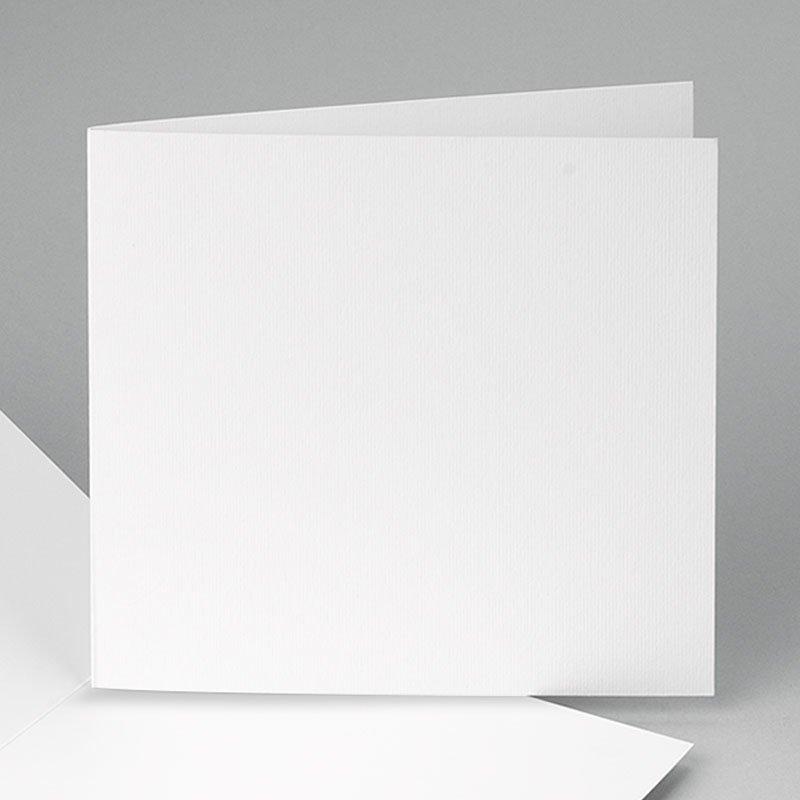 Blanko Geburtskarten 14 cm x 14 cm