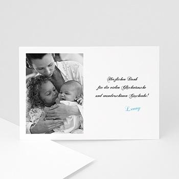 Dankeskarten Geburt Mädchen - Fotokarte klassisch - 1