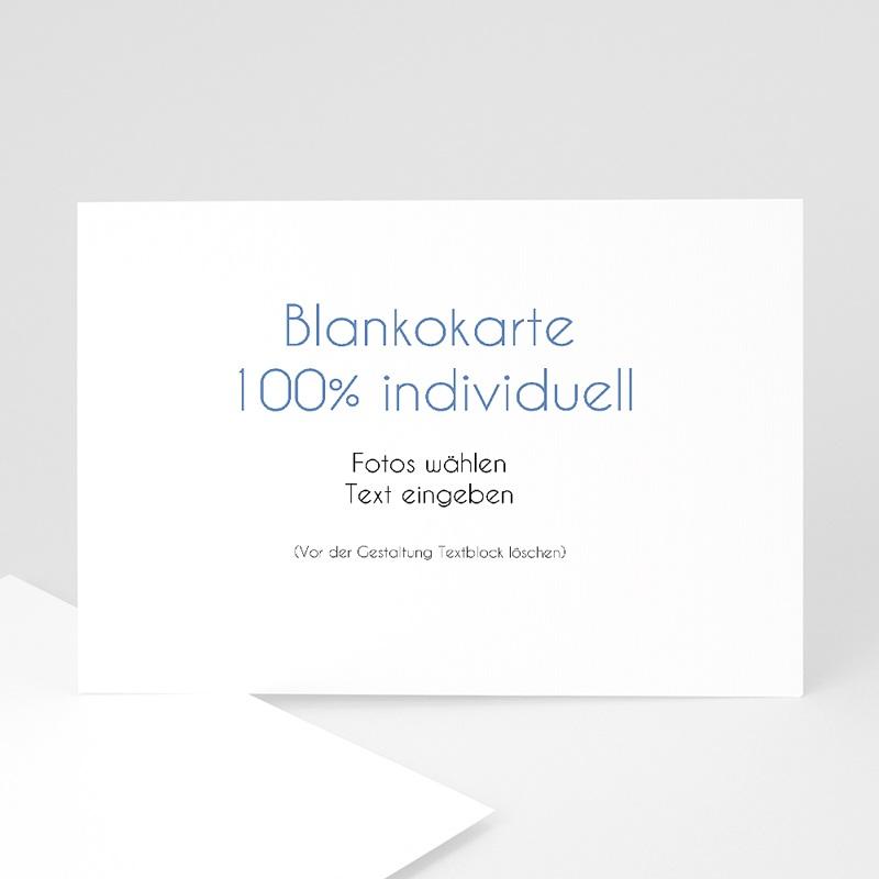 Blanko Hochzeitseinladungen 16.7 cm x 12 cm