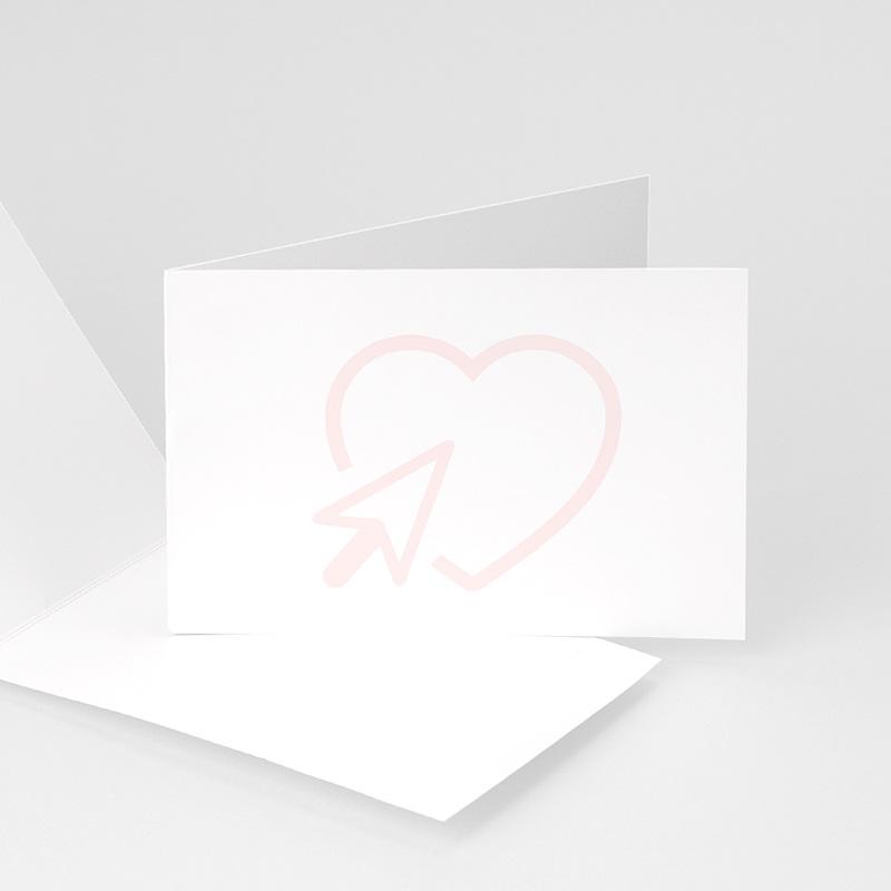 Blanko Hochzeitseinladungen 10 cm x 15 cm