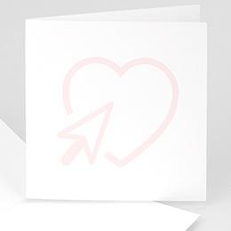 Blanko Hochzeitseinladungen - kreativ - 0
