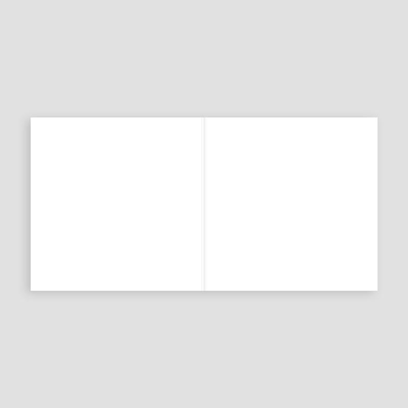 Blanko Hochzeitseinladungen 14 cm x 14 cm pas cher