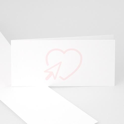 Einladungskarten Hochzeit  - Blanko  47624 test