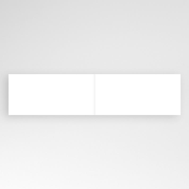 Blanko Hochzeitseinladungen 20.8 cm x 9.9 cm pas cher