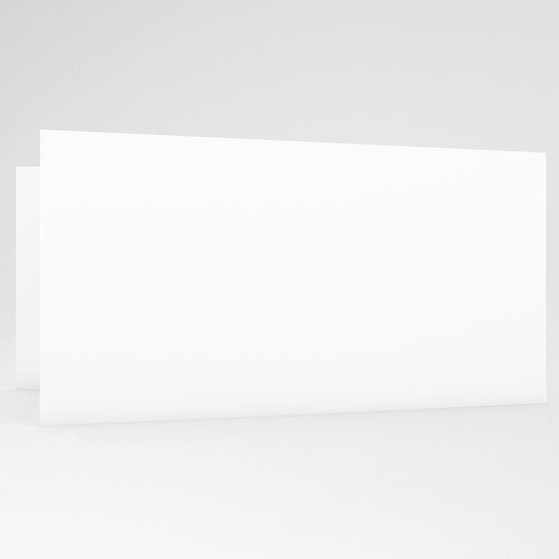 Blanko Hochzeitseinladungen 20.8 cm x 9.9 cm gratuit