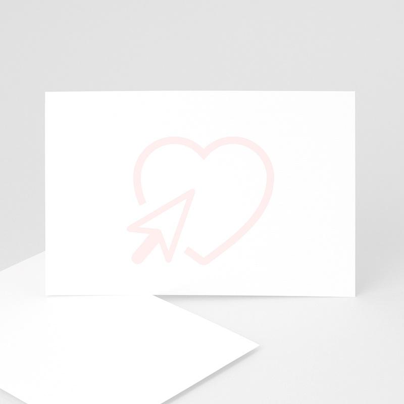 Blanko Hochzeitseinladungen 15 cm x 10 cm