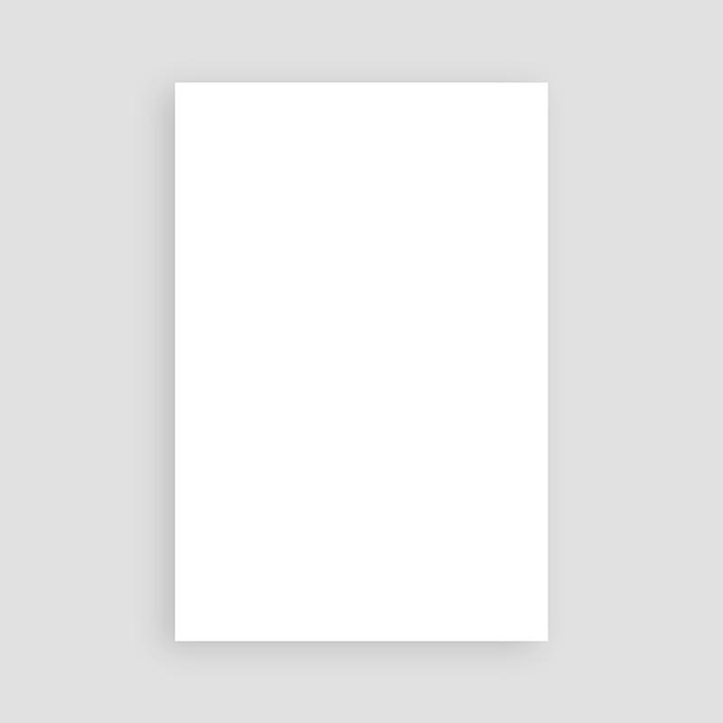 Blanko Hochzeitseinladungen 10 cm x 15 cm pas cher