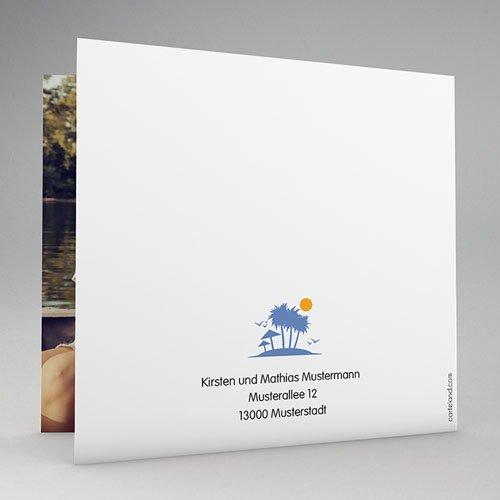 Hochzeitseinladungen modern - Unter Palmen 47785 preview