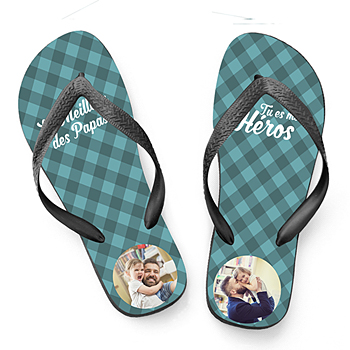 Flip-Flop mit Foto Papas Flip-Flops