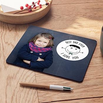 Foto-Mousepad - Lieber Papa - 0