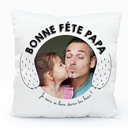 Coussin Vatertag Daddy Ours