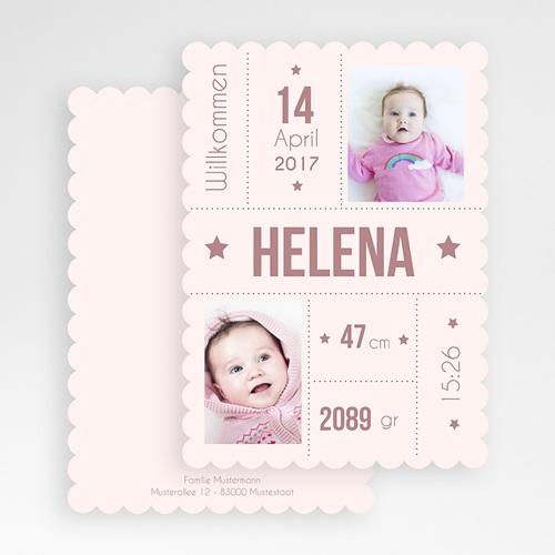 Geburtskarten für Mädchen - Sternenschnuppe 47972 preview