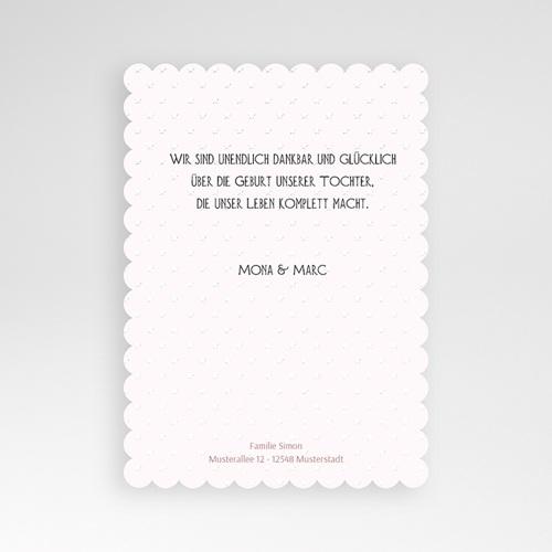 Geburtskarten für Mädchen - Dezent 47986 preview