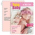 Geburtskarten für Mädchen - Tara Thalia 48003 test