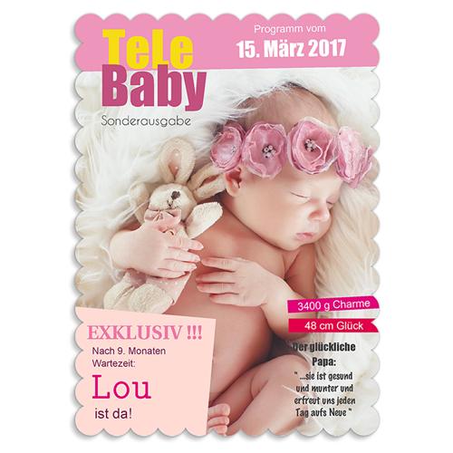 Geburtskarten für Mädchen - Tara Thalia 48004 test