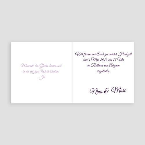 Hochzeitseinladungen modern - Provence 4809 preview