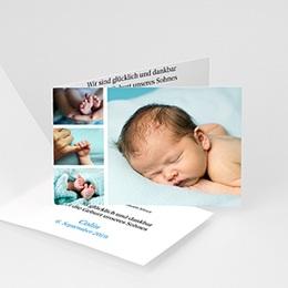 Geburtskarten für Mädchen Miniaturfotos
