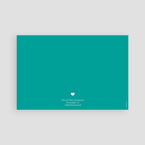 Dankeskarten Geburt Jungen - Portrait 48161 test