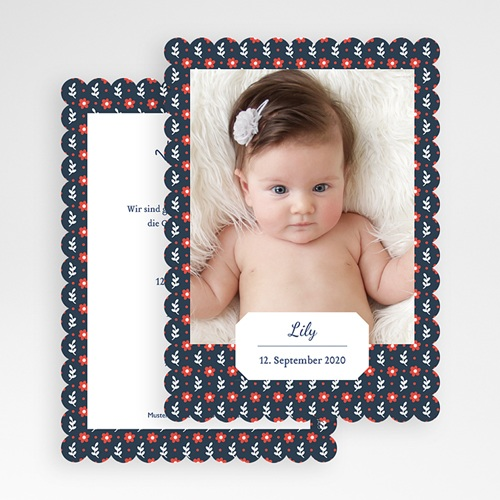 Geburtskarten für Mädchen - Salomea 48219 test