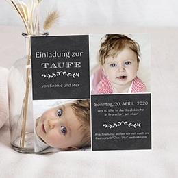 Einladungskarten Taufe Selbst Gestalten | Carteland.de, Einladungs