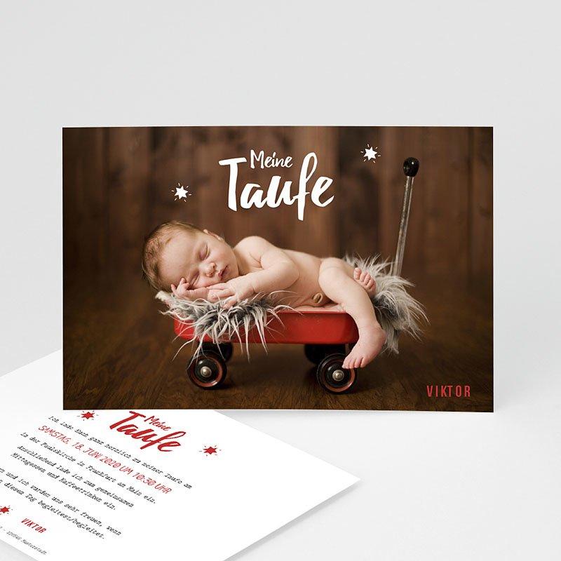 Einladungskarten Taufe Jungen  - Blickfang 48278 thumb