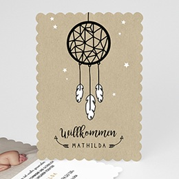 Geburtskarten für Mädchen Traumfänger