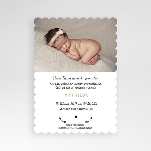 Geburtskarten für Mädchen - Traumfänger 48464 preview