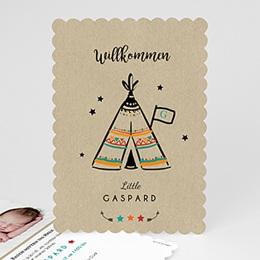 Kreative Geburtskarten - Zelt