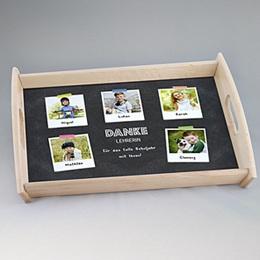Foto-Tablett  - Tolles Schuljahr - 0
