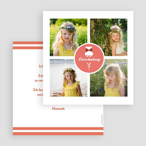 Einladungskarten Einschulung - Zuckertüte 48551 preview