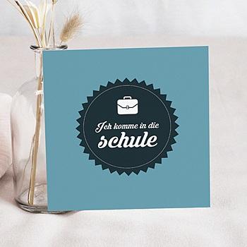Einladungskarten Einschulung - Quel instit ! - 0