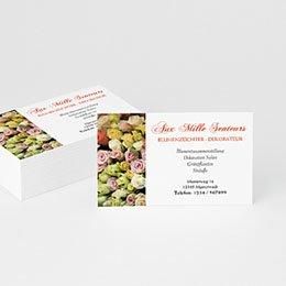 Visitenkarten Professionnel Flower Power