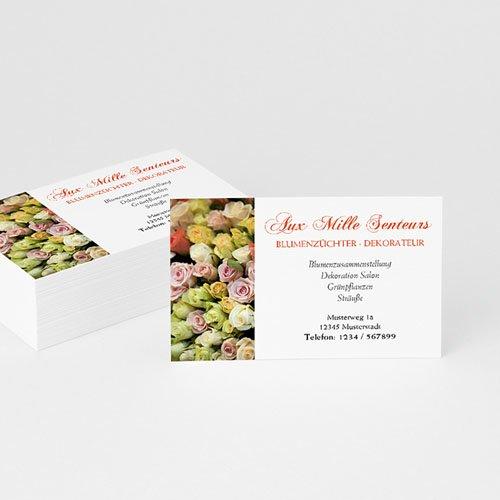 Visitenkarten - Flower Power 4856 test