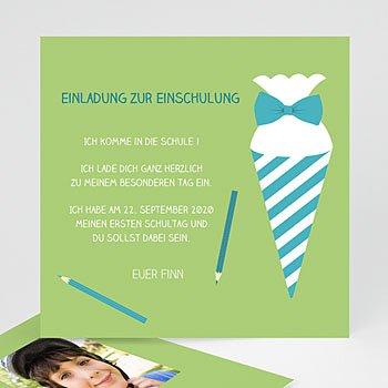 Einladungskarten Einschulung - Schulanfang - 0