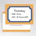 Einladungskarten Einschulung - Bunte Punkte 48597 test
