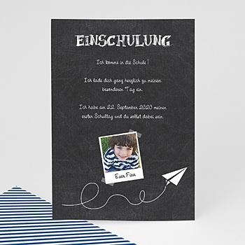 Einladungskarten Einschulung - Schiefertafel - 0