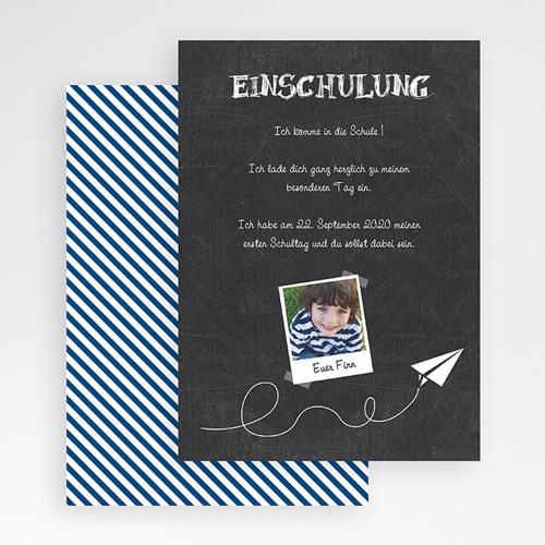 Einladungskarten Einschulung - Schiefertafel 48603 preview