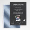 Einladungskarten Einschulung - Schiefertafel 48603 test