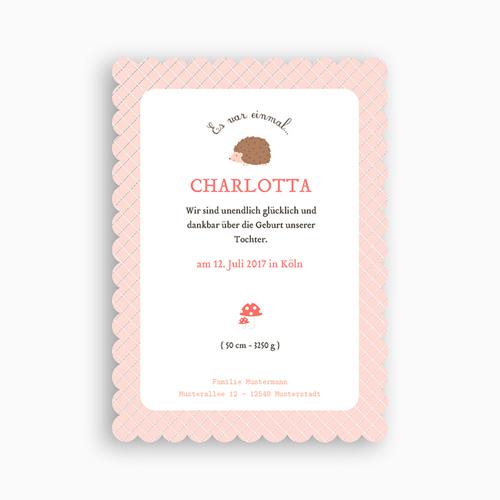Geburtskarten für Mädchen - Alenia 48657 preview