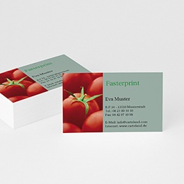 Visitenkarten Professionnel Tomate
