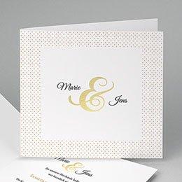 Hochzeitseinladungen modern - Edel und dezent - 0