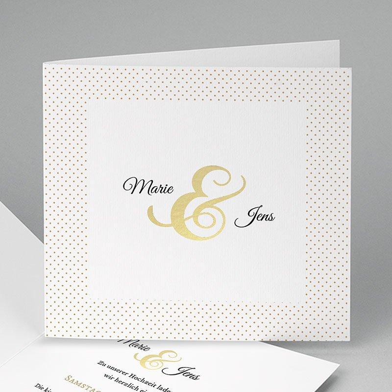 Hochzeitseinladungen ohne Foto Eleganz pur
