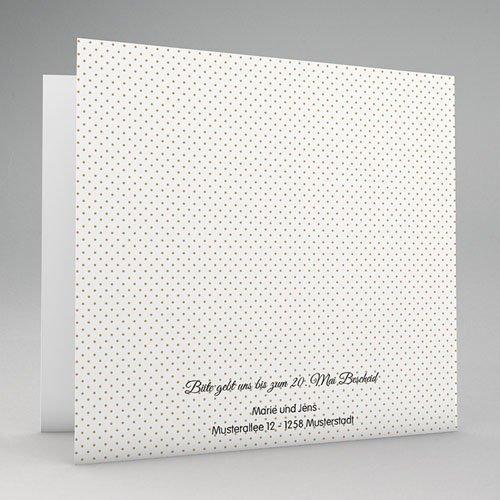 Elegante Hochzeitskarten  - Eleganz pur 49021 test