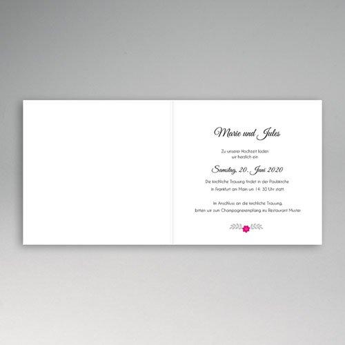 Einladungskarten Hochzeit  - Moderne 49032 test