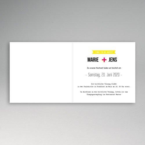 Hochzeitseinladungen modern - Treueversprechen 49044 preview