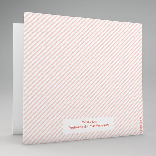 Hochzeitseinladungen modern - Zuckersüss 49051 test